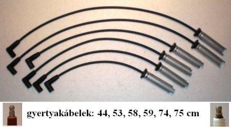 Plymout-6 gyújtókábel készlet