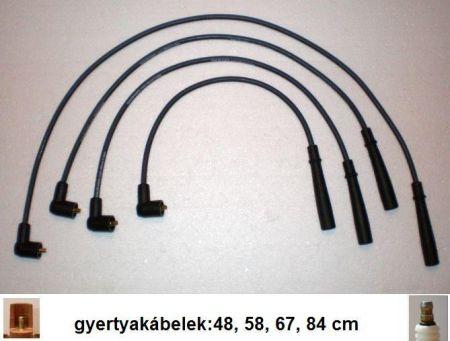 Cit-Pe 7 gyújtókábel készlet
