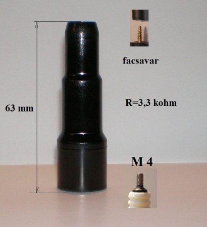 E-1 gyertyapipa
