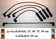 Volvo-3 gyújtókábel készlet