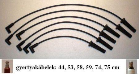 Plymout-61 gyújtókábel készlet