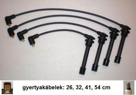 Kia-2 gyújtókábel készlet