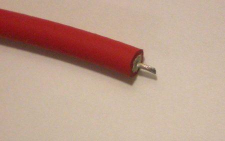 SIL-CU MP rézszálas szilikon gyújtókábel meggypiros