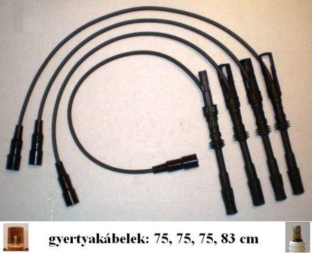 Skoda-29 SR gyújtókábel készlet